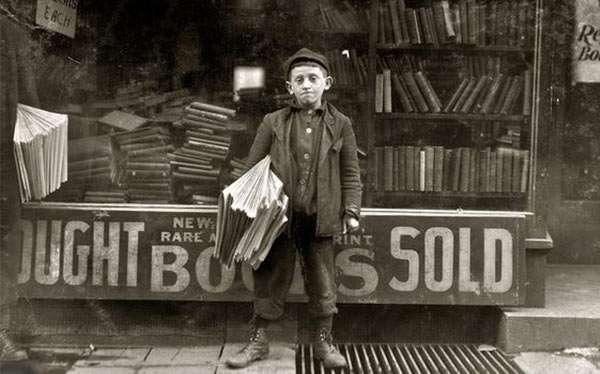 20er Vintage Zeitungsjunge Kostüm selber machen