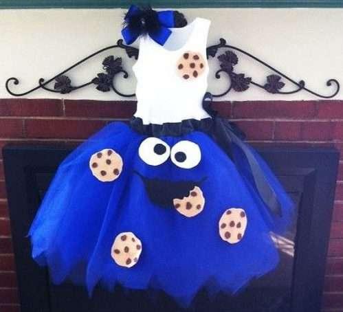 Etsy - Krümelmonster Kostüm selber machen - Tutu-Kleid