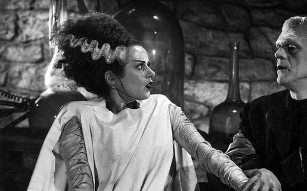 Frankensteins Braut Kostüm selber machen
