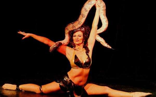 Schlangentänzerin Kostüm selber machen