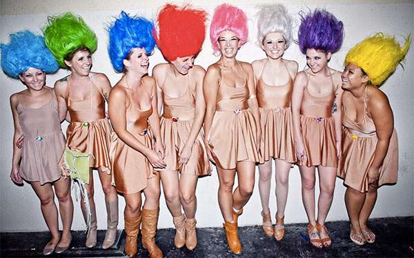 Troll Kostüm selber machen | Kostüm Idee zu Karneval, Halloween & Fasching