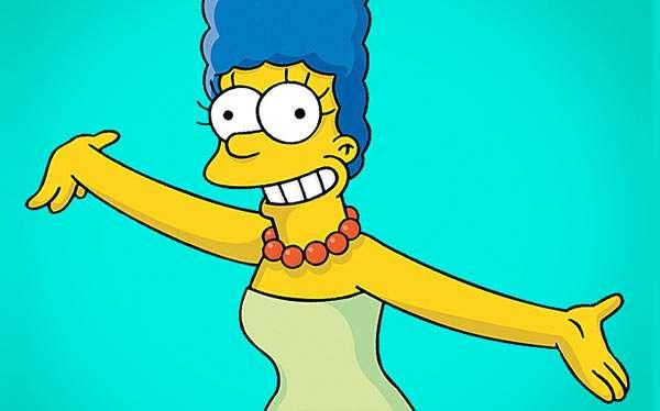 Marge Simpson Kostüm selber machen