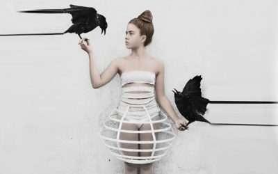 Vogelkäfig Kostüm selber machen
