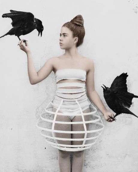 Vogelkäfig Kostüm selber machen |Kostüm Idee zu Karneval, Halloween, Fasching & Vogelball 6