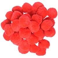Kostüm selber machen - Rote PomPoms