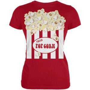 Popcorn Kostüm selber machen - Shirt