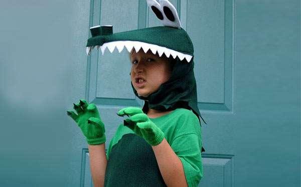 Krokodil Kostüm selber machen