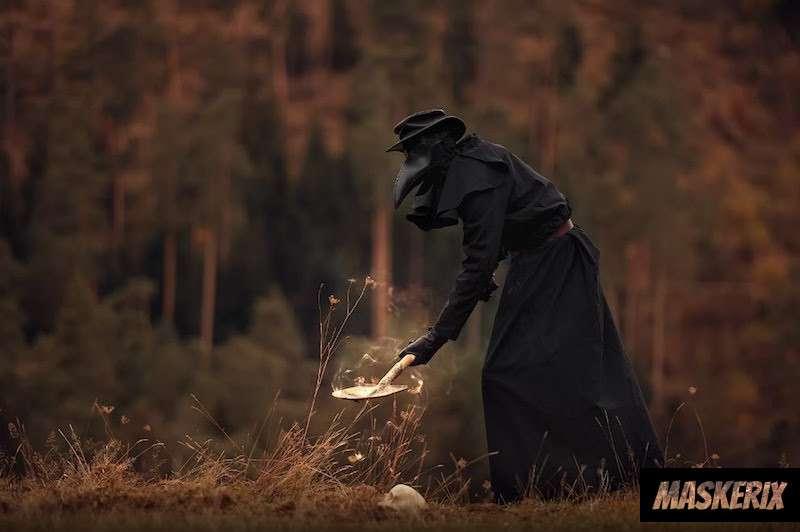 maskerix - Totengräber Kostüm selber machen