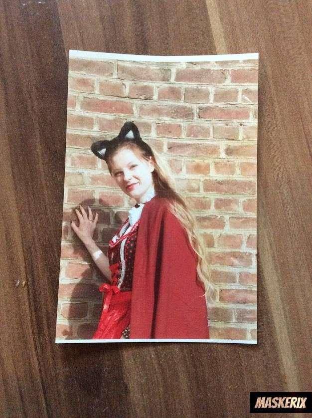maskerix - Rotkäppchen Kostüm selber machen - Rotwölfchen