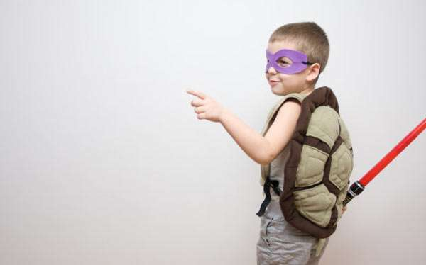 Teenage Mutant Ninja Turtles Kostüm selber machen