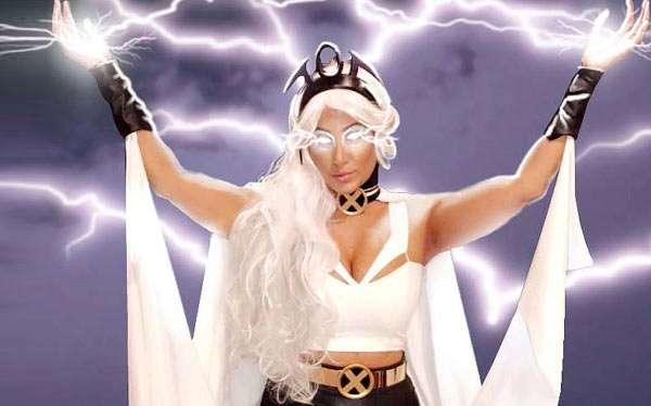 X-Men Storm Kostüm selber machen