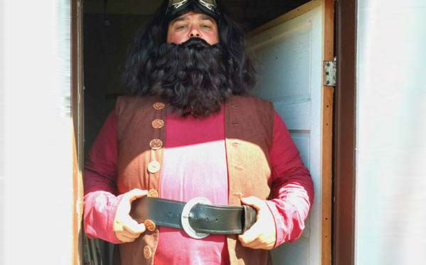 Harry Potter Kostüm Hagrid selber machen