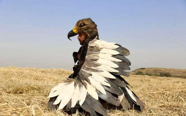 Adler Kostüm selber machen