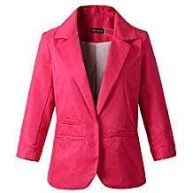 Amazon - Kostüm selber machen - Pinke Blazer