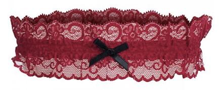 Amazon - Kostüm selber machen - Rotes Strumpfband