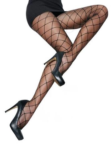 Amazon - Kostüm selber machen - Schwarze Netzstrumpfhose