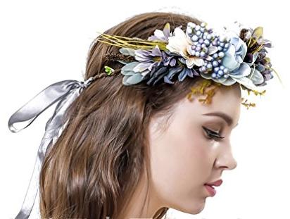 Amazon - Kostüm selber machen - Blumenkranz Haarschmuck