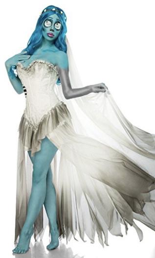 Amazon - Kostüm selber machen - Corpse Bride Emily Kleid