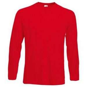 Kostüm selber machen - Rotes Longsleeve