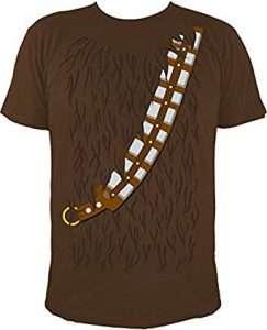 DIY Star Wars Chewbacca Kostüm selber machen Shirt