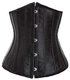 Kostüm selber machen - Schwarze Unterbrust-Corsage