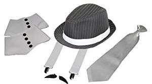 1920er Vintage Gangster Kostüm selber machen Set