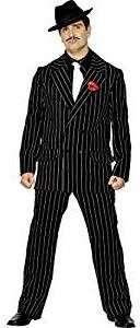 1920er Vintage Gangster Mafia Kostüm selber machen Anzug