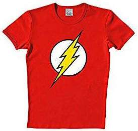 Big Bang Theory Sheldon & Amy Kostüm selber machen Flash Shirt