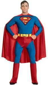 Superman Kostüm Herren Retro