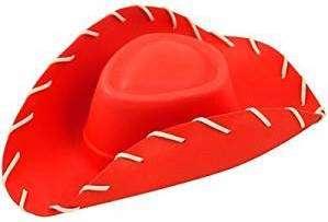 Rote Cowboyhüte | Kostüm selber machen