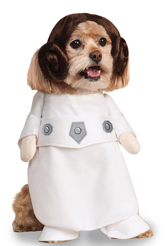 Star Wars Prinzessin Leia | Kostüm-Idee für Hunde zu Karneval, Halloween & Fasching