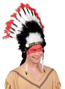 Indianer Kostüm selber machen Kopfschmuck