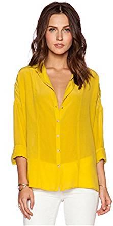 Kostüm selber machen Gelbe Bluse