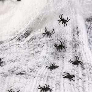 Kostüm selber machen Spinnweben