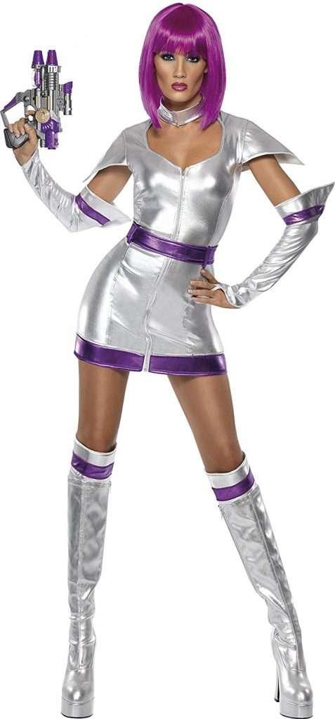 Marsianer Kostüm selber machen Kleid | Kostüm-Idee zu Karneval, Halloween & Fasching