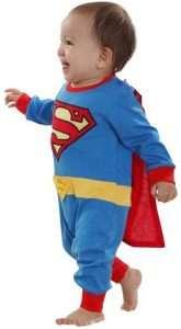 Superman Kostüm für Babies