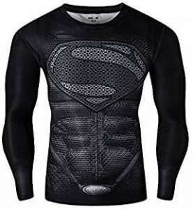 Superman Kostüm Longsleeve Herren