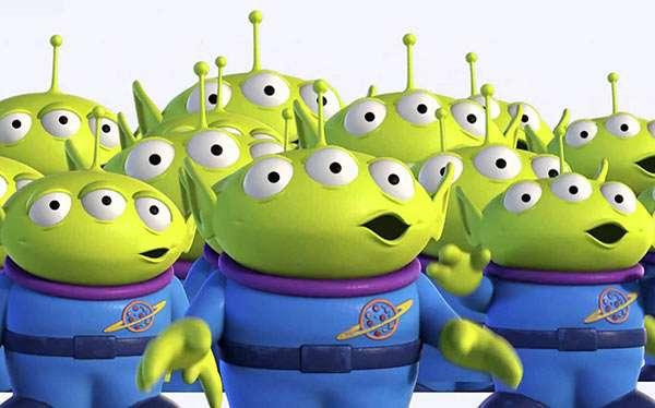 Toy Story Alien Kostüm selber machen