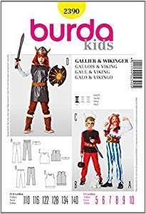 Asterix und Obelix Kostüm selber machen Schnittmuster | Kostüm-Idee zu Karneval, Halloween & Fasching