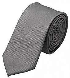 Graue Krawatte | Kostüm selber machen