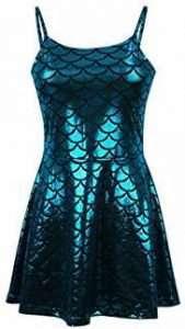 Meerjungfrau Kostüm selber machen Kleid | Kostüm Idee zu Karneval, Halloween & Fasching