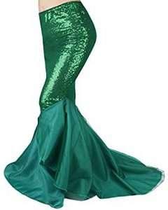 Meerjungfrau Kostüm selber machen Rock | Kostüm Idee zu Karneval, Halloween & Fasching