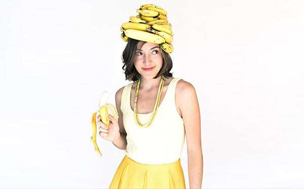 Bananen Kostüm selber machen