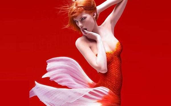 Fisch Kostüm selber machen