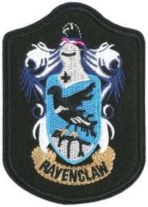 Harry Potter Kostüm selber machen Ravenclaw Wappen | Kostüm-Idee zu Karneval, Halloween & Fasching