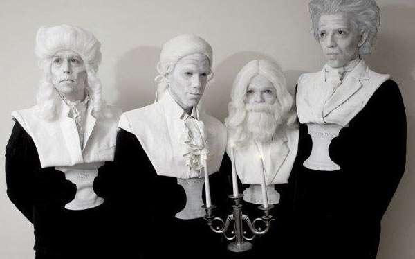 Komponisten Büste Kostüm selber machen