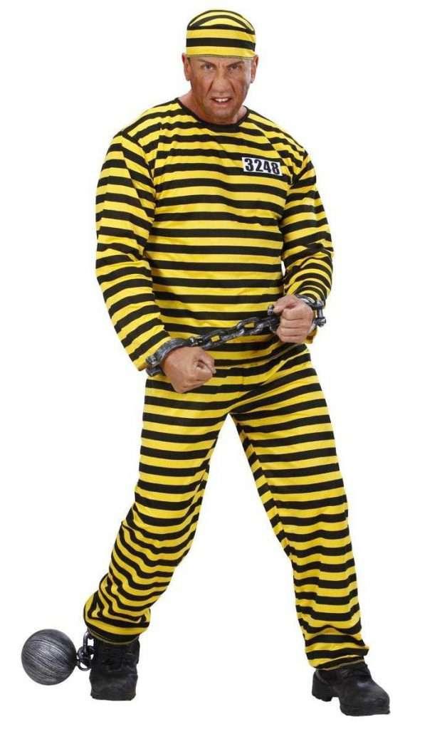 Lucky Luke Sträfling Kostüm selber machen Sträfling Anzug | Kostüm-Idee zu Karneval, Halloween & Fasching