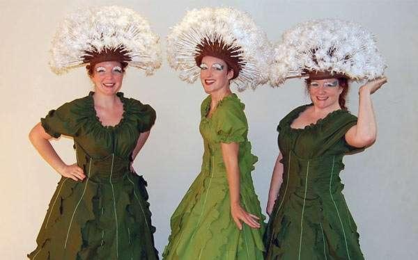 Pusteblume Kostüm selber machen | Kostüm Idee zu Karneval, Halloween & Fasching
