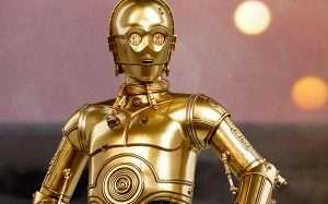Star Wars C3PO Kostüm selber machen | Kostüm Idee zu Karneval, Halloween & Fasching