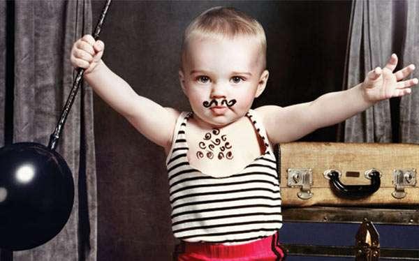 Vintage Zirkus Gewichtheber Kostüm selber machen